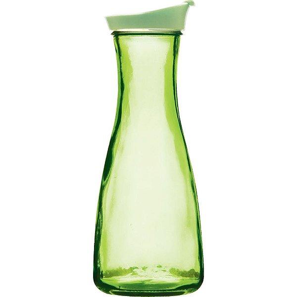 Garrafa de Água em Vidro Verde Style 1 Litro - Yazi
