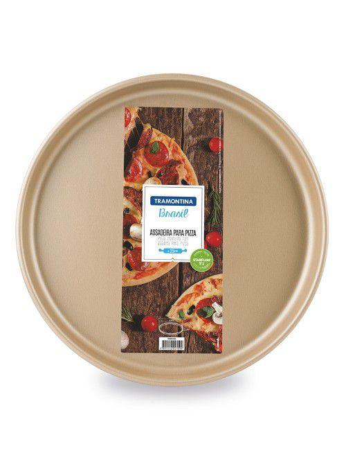 Forma para Pizza Tramontina Starflon Cereja 35cm