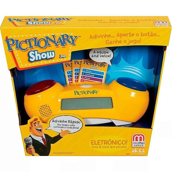 Jogo Pictionary Show - Mattel Games