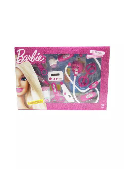 Kit Médico da Barbie Com Funções Divertidas - Fun