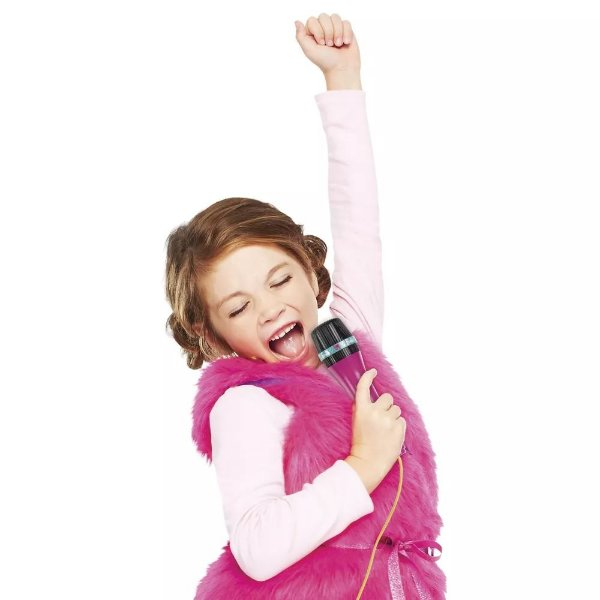 Microfone Fabuloso da Barbie - Fun