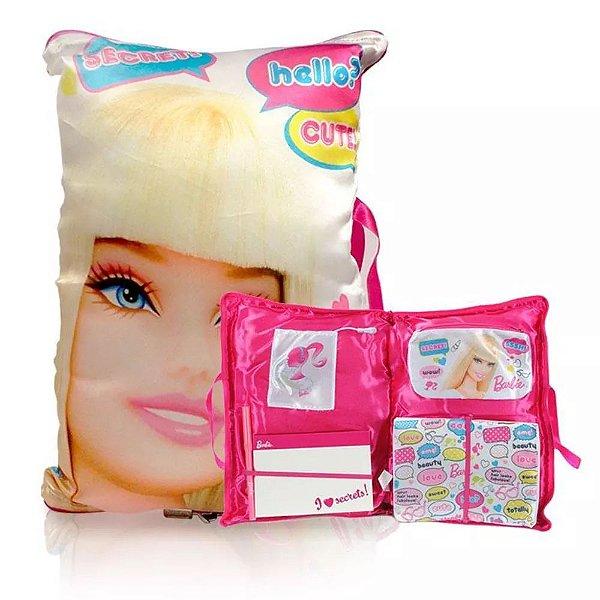 Travesseiro Diário Secreto da Barbie - IMC Toys