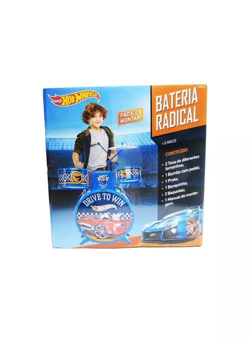 Bateria Radical Hot Wheels - Fun