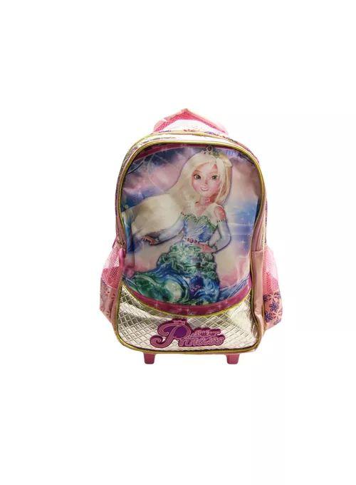 Mochilete Silver Princess Rosa - Kit