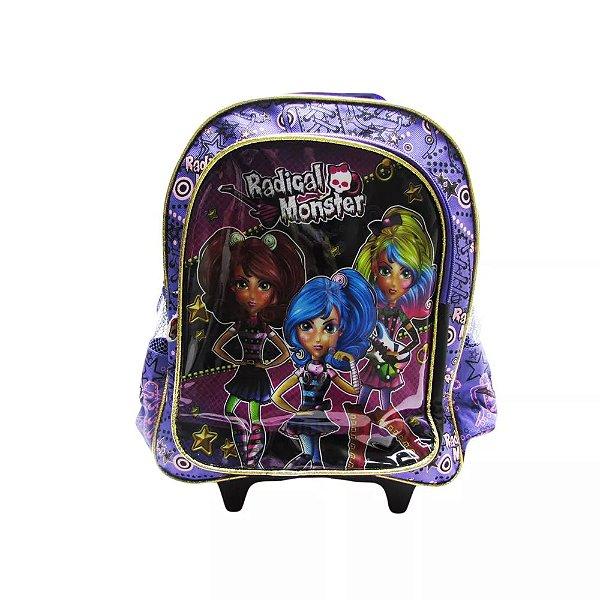 Mochilete Radical Monster Roxa - Kit