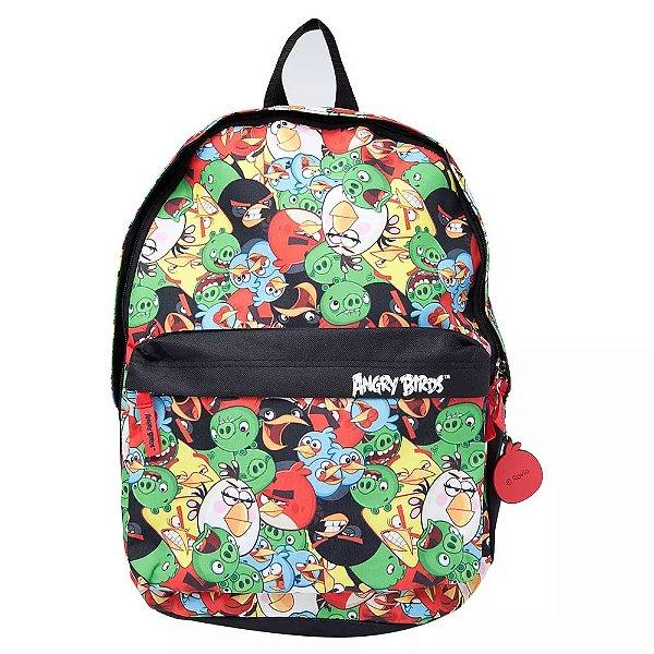 Mochila Angry Birds Pol Colorida - Santino