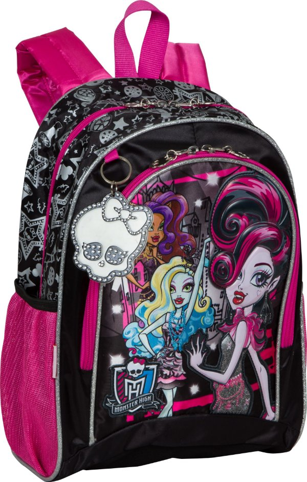 Mochila Monster High Pequena 15Y01 Sestini