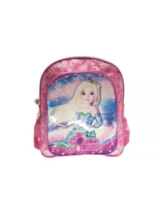 Mochila Silver Princess Rosa - Kit