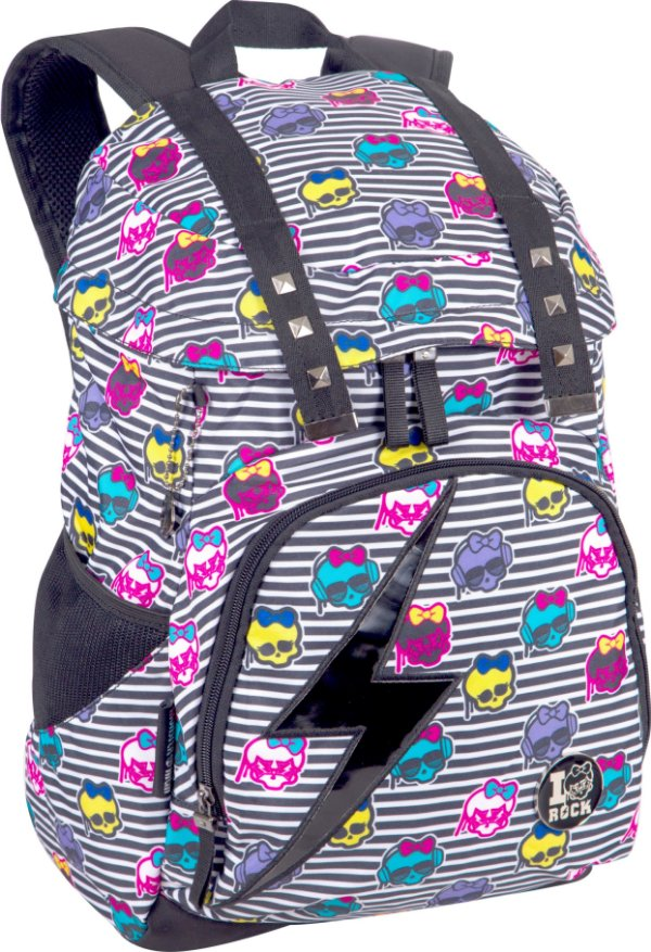 Mochila Monster High com Tampa 15T06 Sestini