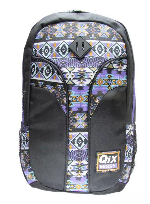 Mochila Notebook QIX Missy Preta