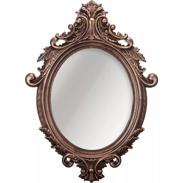 Espelho Oval Rococo Cobre Mart