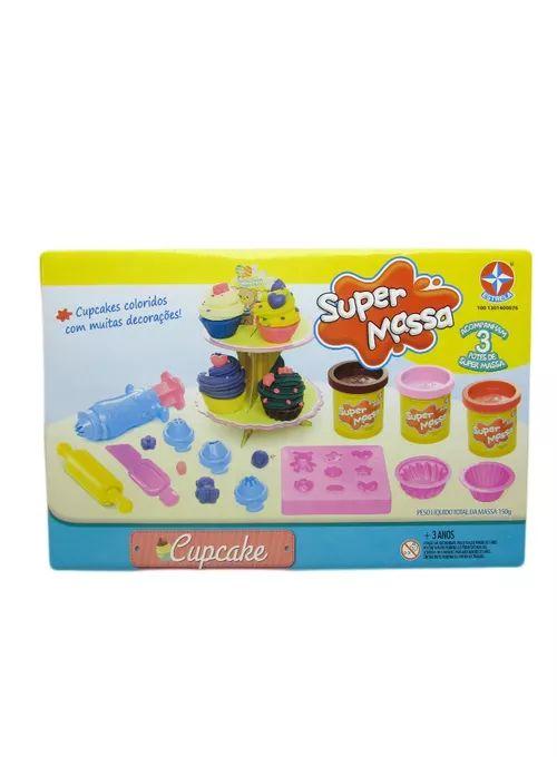 Super Massa Cupcake Estrela