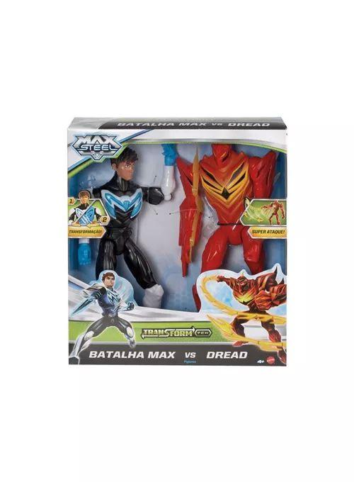 Max Steel Batalha Max Vs Dread - Mattel