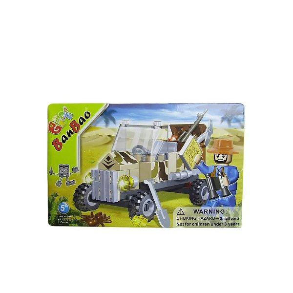 Blocos De Montar Jeep Arqueológico - Banbao