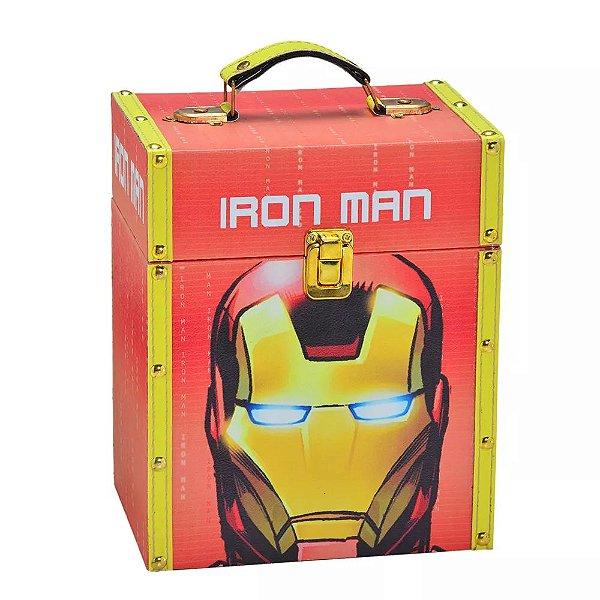 Caixa Porta Trecos Iron Man com Alça