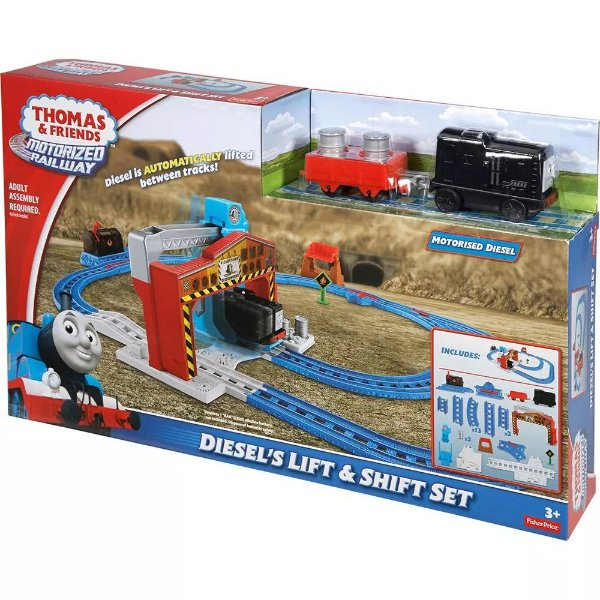 Ferrovia Thomas & Friends Carregamento do Diesel Fisher-Price