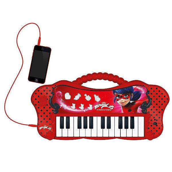Teclado Musical Ladybug Miraculous Fun