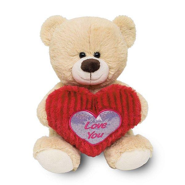 Urso com Coração Buba Love You