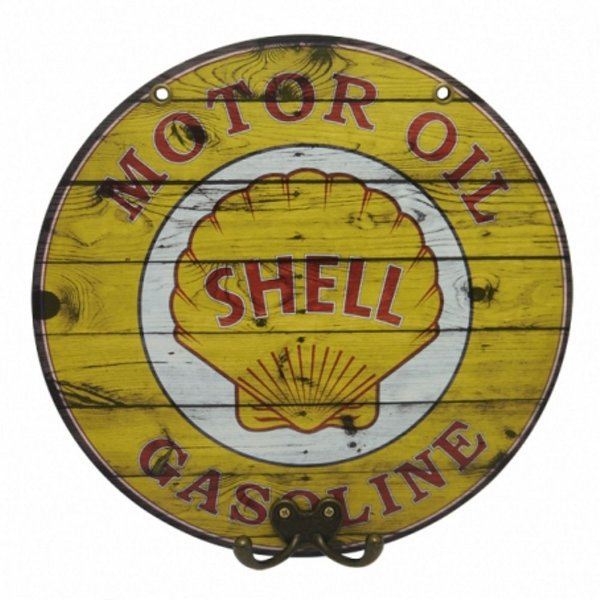 Cabideiro Decorativo Shell Gasoline