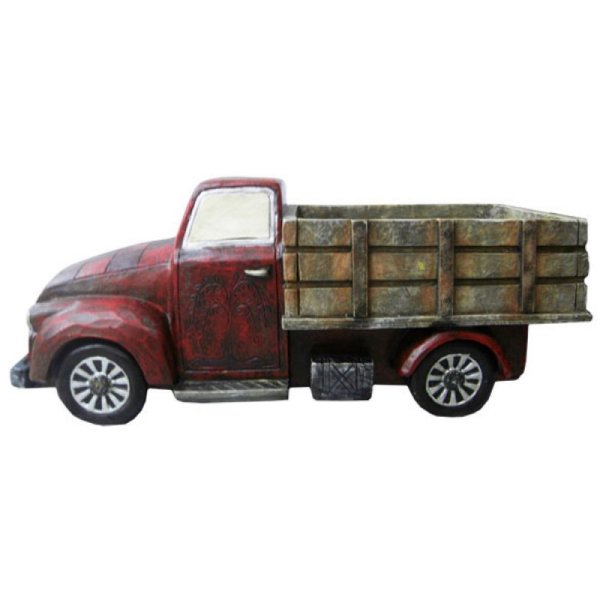 Caminhão Decorativo de Resina