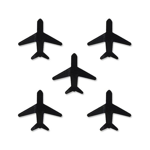 Super Imãs Avião Com 5 Unidades Geguton