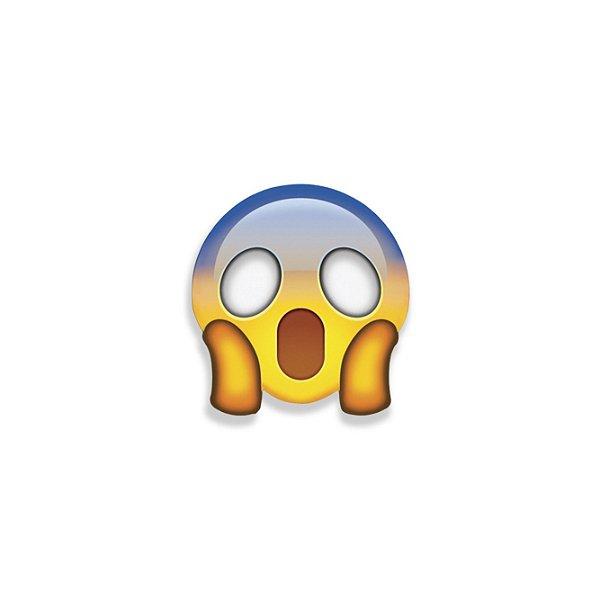 Super Ímã Emoji Assustado Geguton