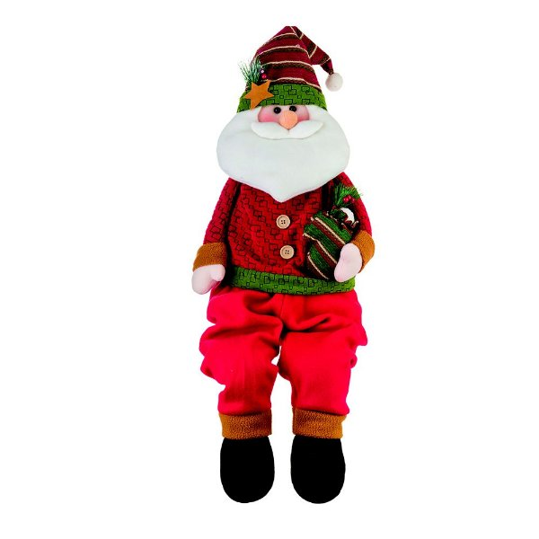 Boneco Papai Noel 81 cm Santini Christmas