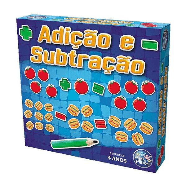 Jogo Adição E Subtração Pais & Filhos