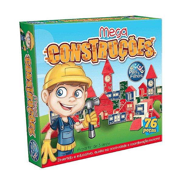 Jogo Mega Construções Pais & Filhos