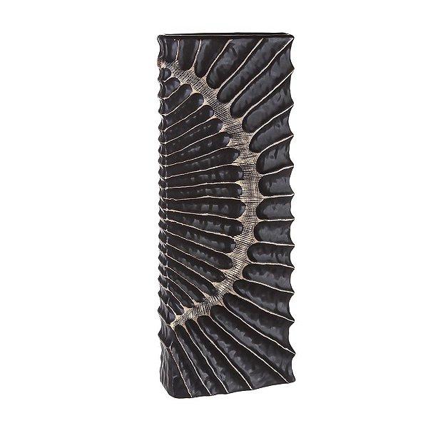 Vaso Decorativo Cerâmica Marrom 50cm Concepts Life