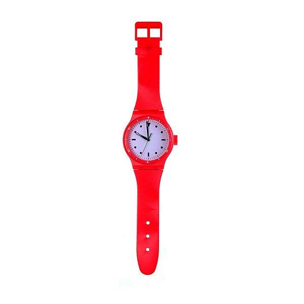 Relógio De Parede Pulseira Vermelha Concepts Life