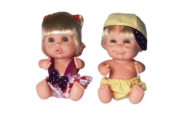 247b723096de3 Bonecas Barbie Twins Bonecos Gêmeos Candide - Daluel - Daluel