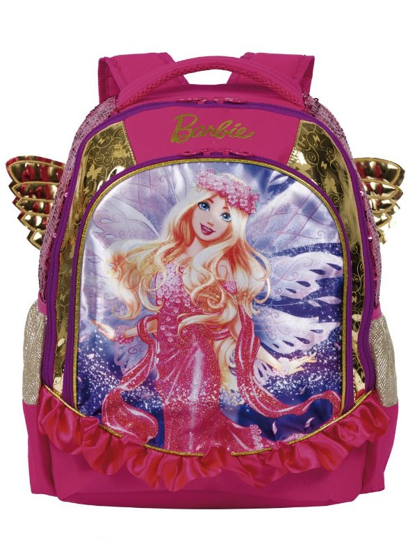 Mochila Barbie Dreamtopia Com Asas - Sestini