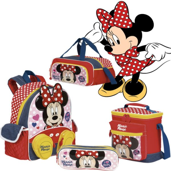 Kit Escolar Minnie - Sestini