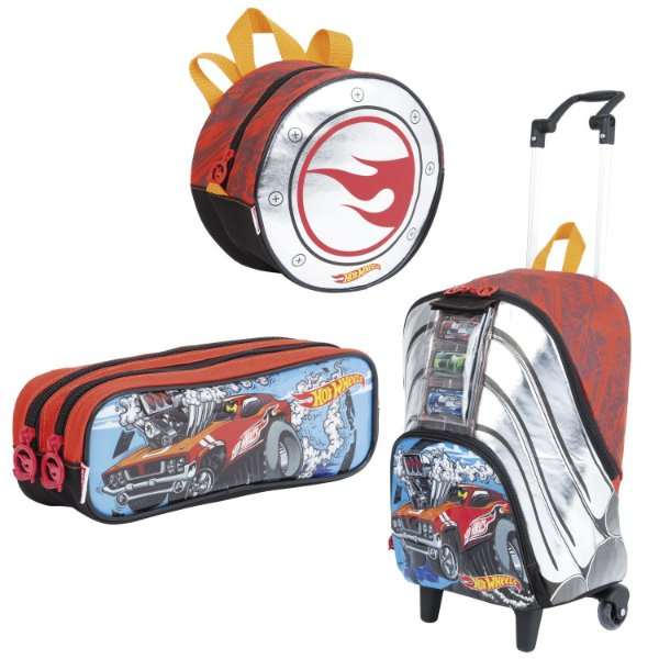 Kit Escolar Hot Wheels Sestini