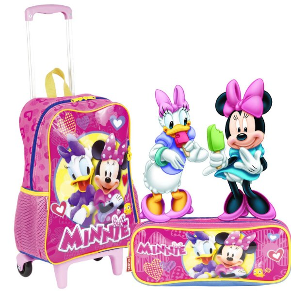 Kit Mochilete e Estojo Minnie Sestini 18M