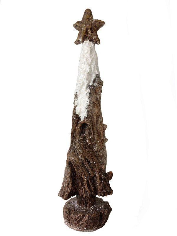 Árvore de Natal Nevada Resina 37 cm