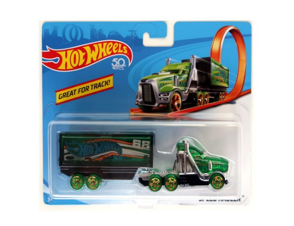 Carrinho Hot Wheels Track Stars Speed Hauler