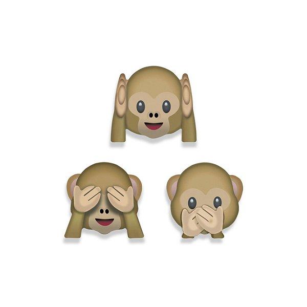 Super Imãs Geguton Emoji Macaquinho