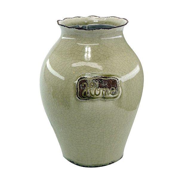 Vaso Decorativo de Cerâmica Home Vintage
