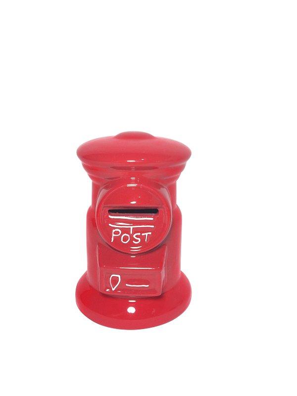 Cofrinho Caixa de Correios Vermelha