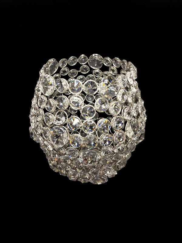 Castiçal de Cristal 17cm Decorvision