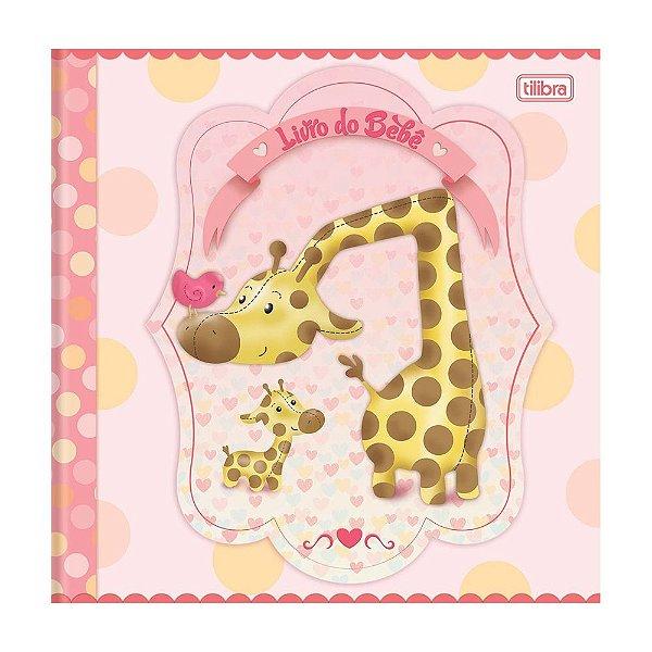 Livro do Bebê Menina Tilibra 34 Folhas