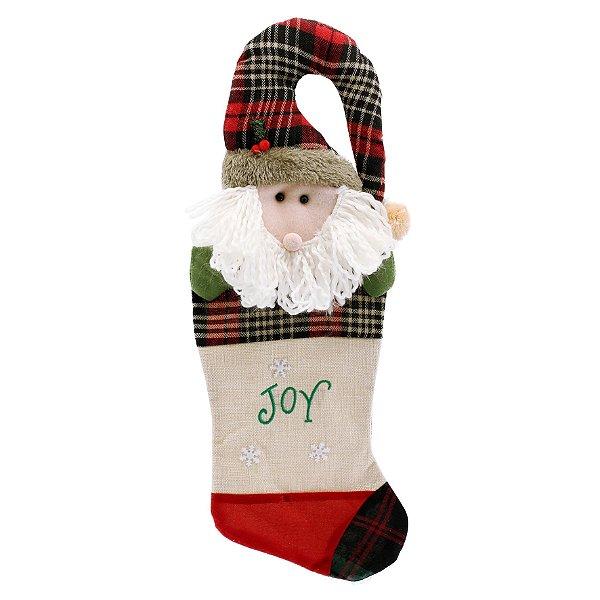 Bota Meia do Papai Noel Joy Magizi