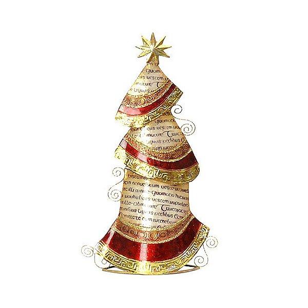 Árvore de Natal de Mesa Metal 48cm