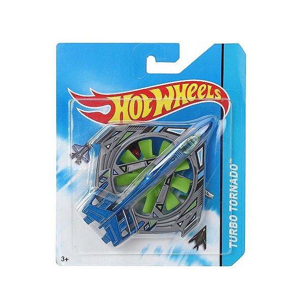Avião Hot Wheels Turbo Tornado FRJ57 Mattel