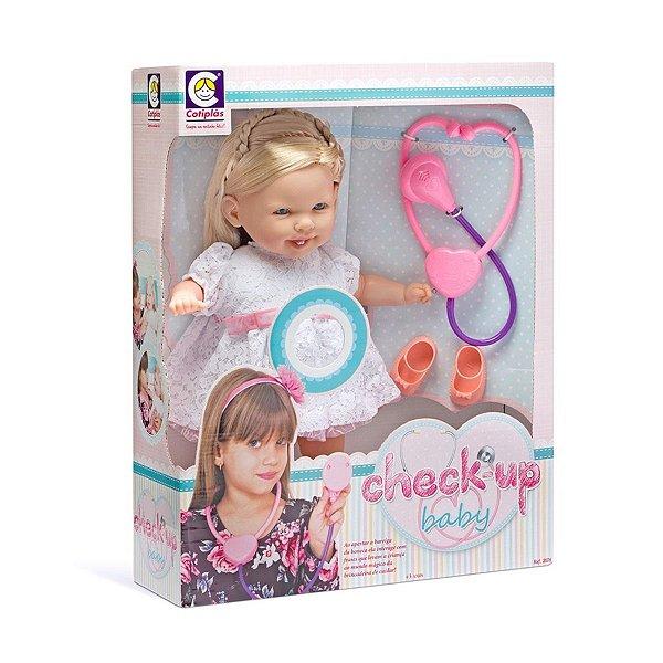 Boneca Cotiplás Médica Check-up Baby