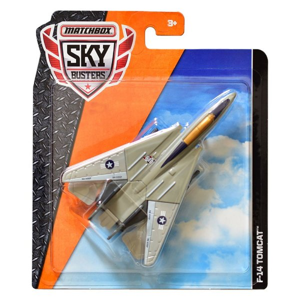 Avião Matchbox Sky Busters F-14 Tomcat FKV36 Mattel