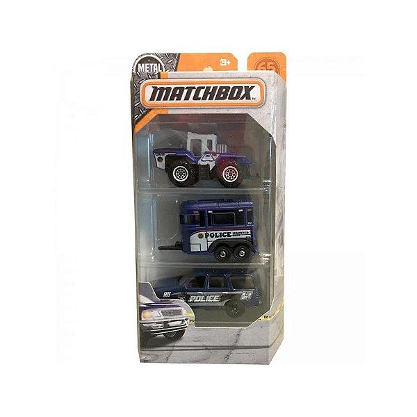 Kit de Carinhos Matchbox FMK11 Mattel