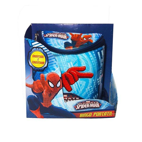 Jogo Bingo do Homem Aranha na Mochila Zippy Toys
